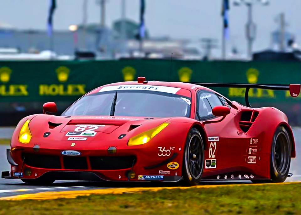 Daytona Hours Wet Condition Qualifications Davide Rigon